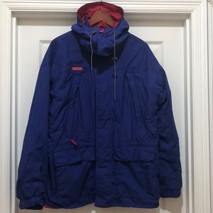 Columbia Hooded Shell Jacket Size L
